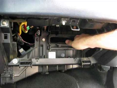 Cabin air filter replacement- Mitsubishi Eclipse - YouTube