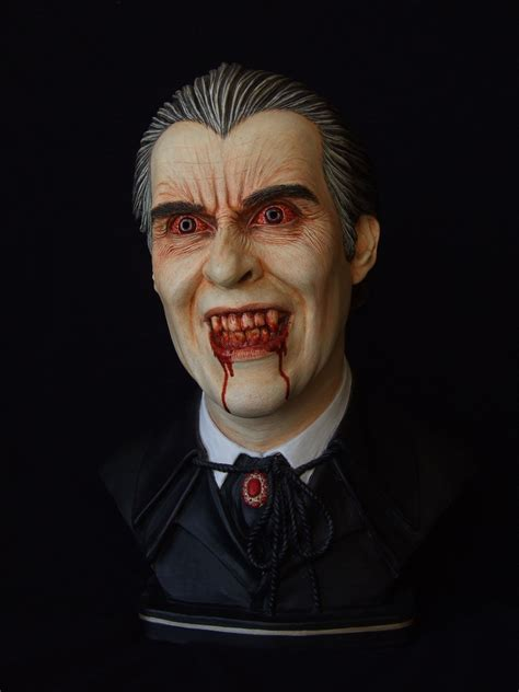 Christopher Lee as Dracula by revenant-99 on DeviantArt