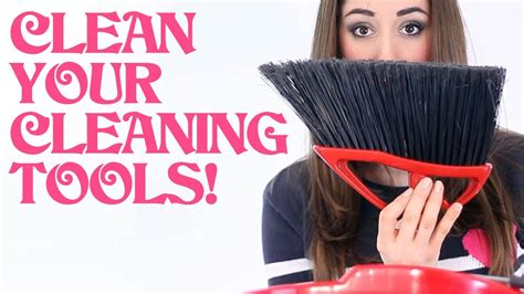 Clean Your Cleaning Tools! (Clean My Space) - YouTube