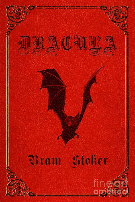 Dracula Book Cover Poster Art 1 Digital Art by Nishanth ...