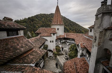 Dracula's Castle in Transylvania available for the night ...