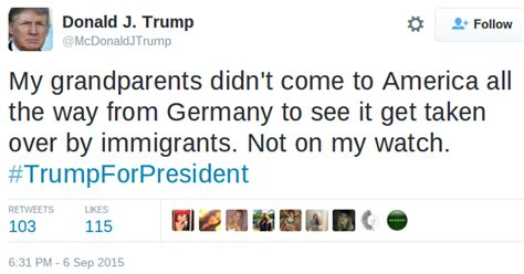 FALSE: Trump Tweets About His Anti-Immigration Stance
