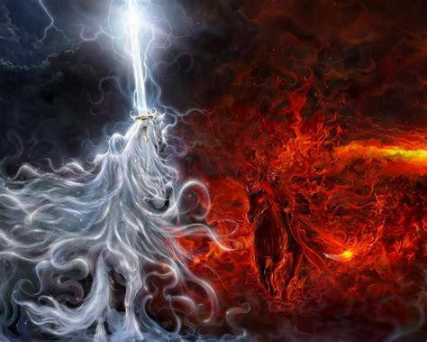 Good versus Evil fantasy pictures | Barbaras Fantasy World