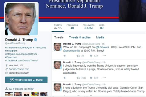 Here's the man behind @realDonaldTrump on Twitter | New ...