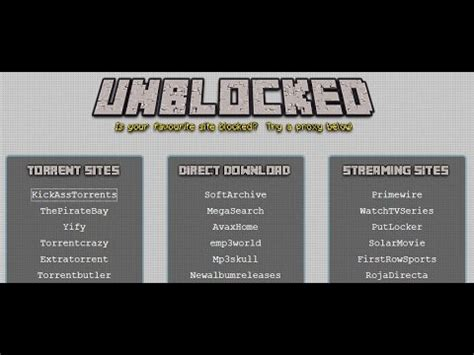 How to unblock torrent sites - YouTube