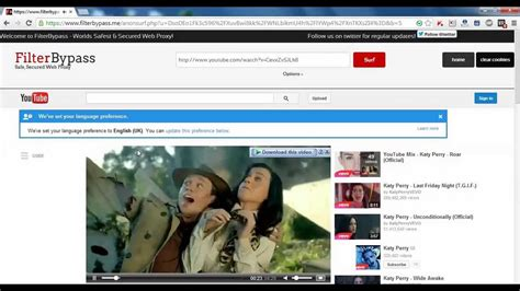 How to Unblock Youtube | SSL Anonymous Web Proxy - YouTube