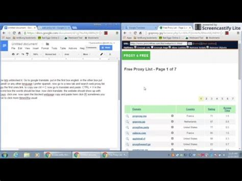 How to unblocked websites in school - YouTube
