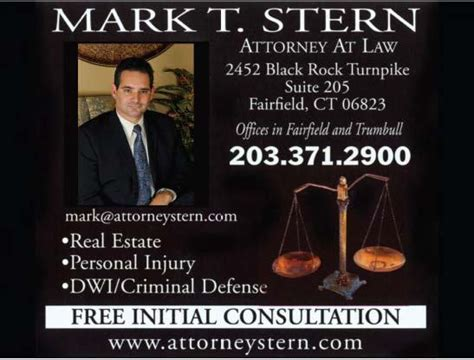 Lawyer Mark Stern - Fairfield, CT Attorney - Avvo