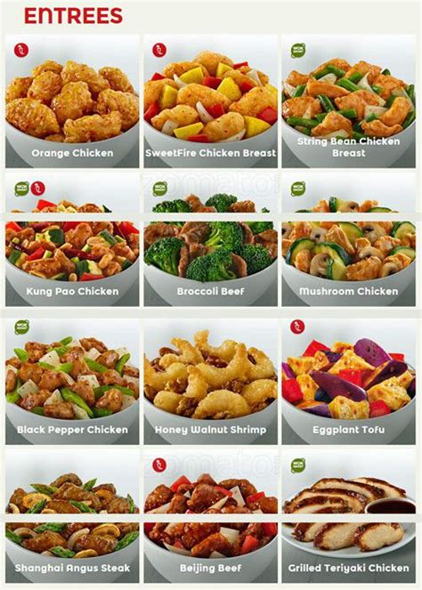 Panda Express Menu, Menu for Panda Express, South Side ...