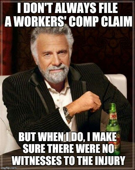 The most interesting workers' comp claim in the world ...