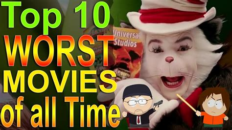 Top 10 Worst Movies of all Time - YouTube