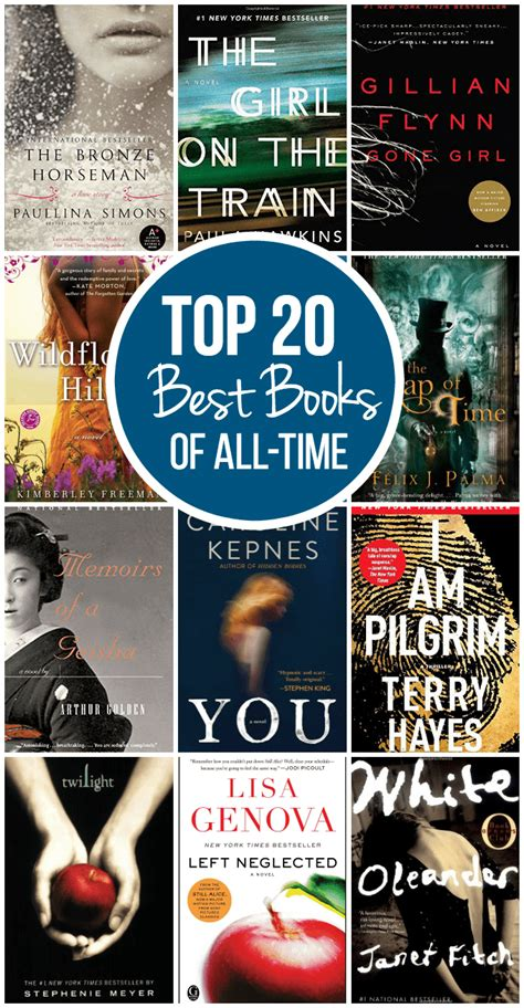 Top 20 Best Books of All-Time - Simply Stacie