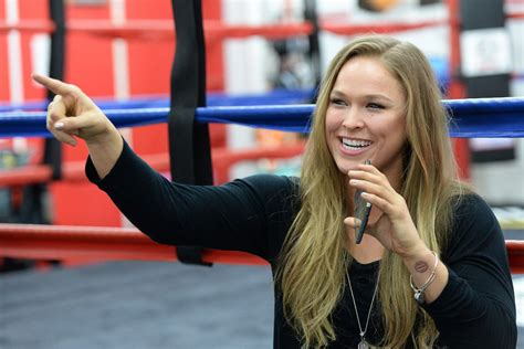 UFC signed off on Ronda Rousey's appearance at ...